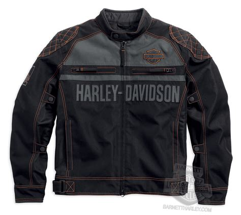 Hd Jaket barnett harley davidson mens leather jackets hairstylegalleries
