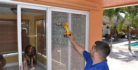 sliding glass door replacement miami fort lauderdale palm express glass board up
