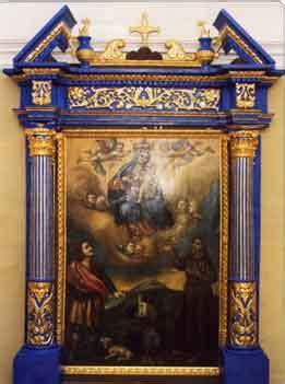 san vito a tavola restauro di una pala d altare restauro arte e antiquariato