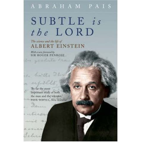 Einstein Biography Pais | subtle is the lord abraham pais 9780192806727