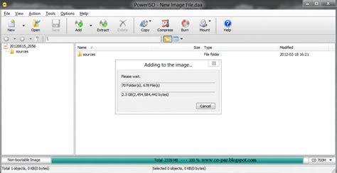 cara membuat file iso di hardisk cara membuat bootable iso dengan poweriso borneo indo