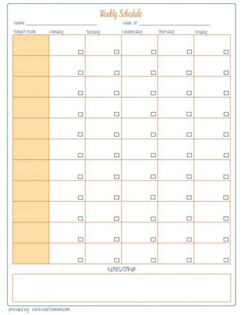 free printable homeschool planner free homeschool weekly planner printable ch