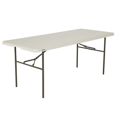 lifetime 6 table lifetime 6ft standard mould trestle table bunnings