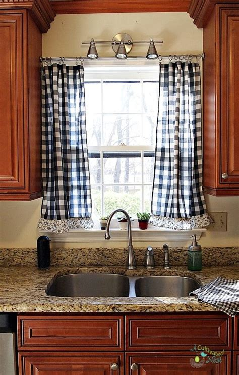 where can i buy kitchen curtains frugal decorating new kitchen lace ruffle and window