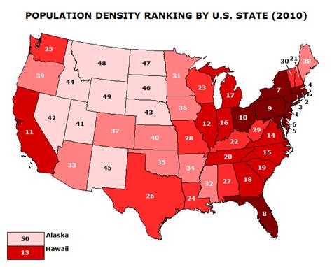 united states map of population density geography glossary semester 1