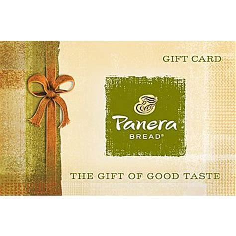 Panera Gift Card Deal - 50 panera bread gift card email delivery slickdeals net