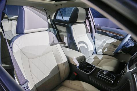 chrysler car interior 2015 chrysler 300 first look motor trend