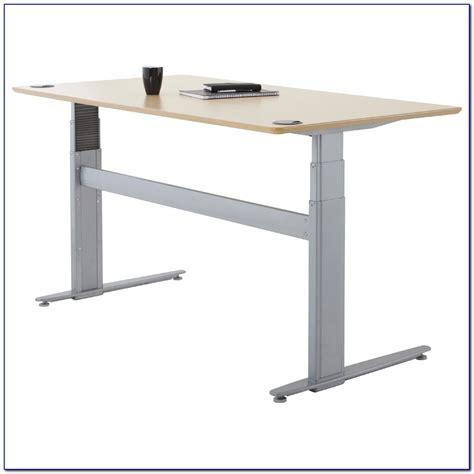 motorized sit stand desk motorized sit stand desk desk home design ideas