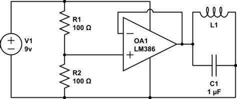 inductor in an lifier circuit op lc tank circuit feeding on op no oscillation electrical engineering stack exchange