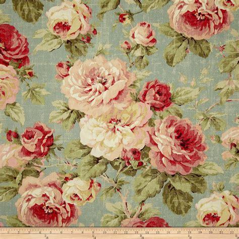Discount Upholstery Fabric Online Richloom Queen Floral Breeze Discount Designer Fabric
