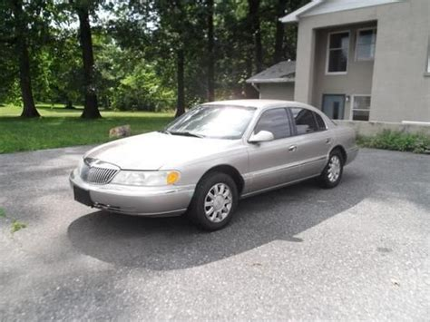are lincoln cars reliable find used 2001 lincoln continental luxury sedan runs great