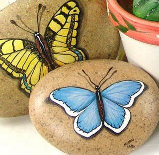 Tas Papillon 65 1045 best pebbles and stones butterfly images on