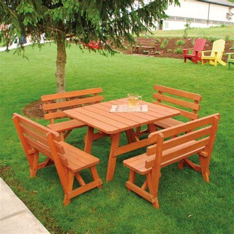 square picnic table plans free traditional square picnic table plans woodworking