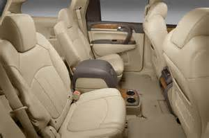 Buick Enclave How Many Seats 2012 Buick Enclave Cxl Rear Seats In Color