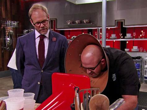 alton brown taking a from cutthroat kitchen