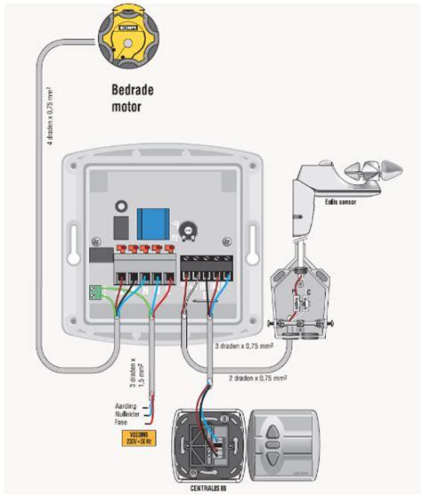 somfy motor wiring diagram