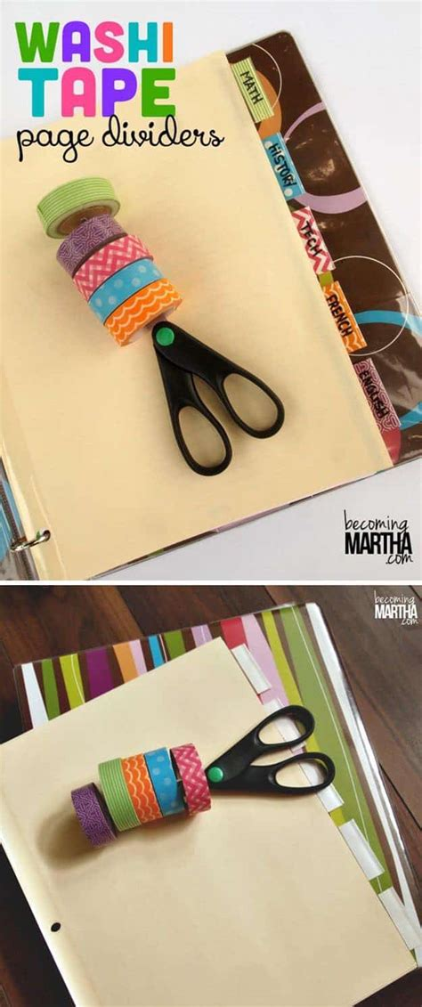 diy washi tape crafts 100 washi tape ideas to style and personalize your items