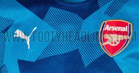 Bahan Ny Chelsea Away 17 18 outstanding arsenal 17 18 pre match home away shirts leaked footy headlines