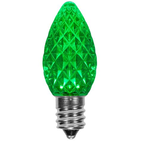 c7 green opticore led christmas light bulbs