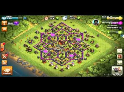 copy layout coc xmod clash of clans copying base layout youtube