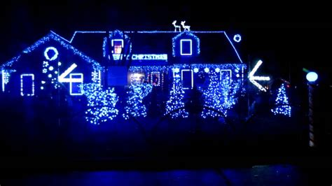 wilmette illinois choreographed christmas lights youtube