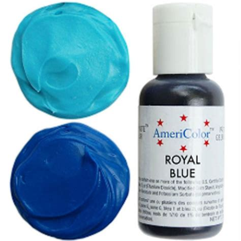 americolor food coloring americolor royal blue soft gel paste icing food