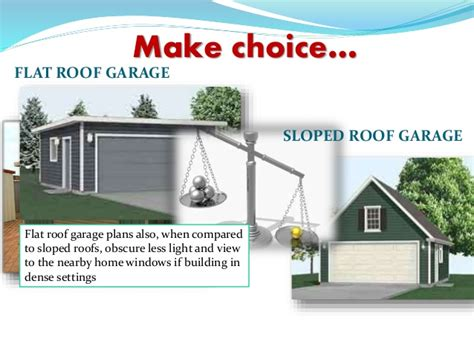 16 X 24 Garage Plans by How Flat Roof Garages Can Be A Better Choice