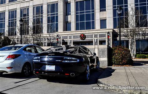 Aston Martin Carolina by Aston Martin Rapide Spotted In Carolina