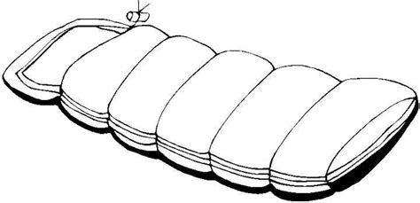 Sleeping Bag Coloring Page Pics Of Sleeping Bags Clipart Best
