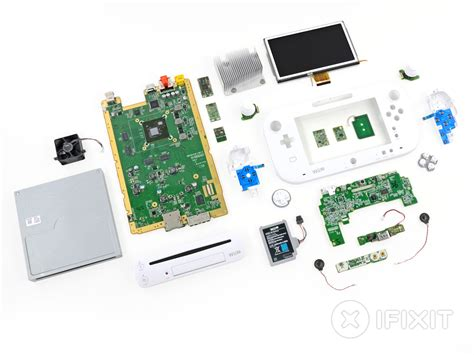 wii diagram nintendo wii u teardown ifixit