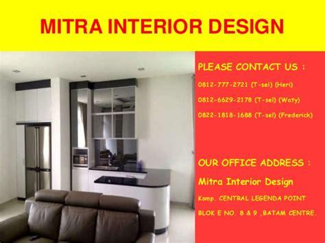 design interior batam 0812 7772 721 t sel spesialis interior design batam