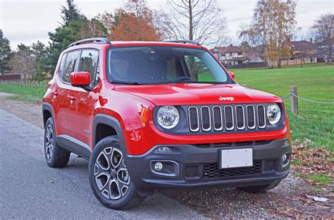 jeep renegade stance 2015 jeep renegade 2 4 4x4 road test review