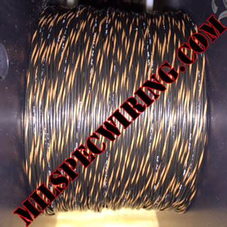 26awg wire black brown