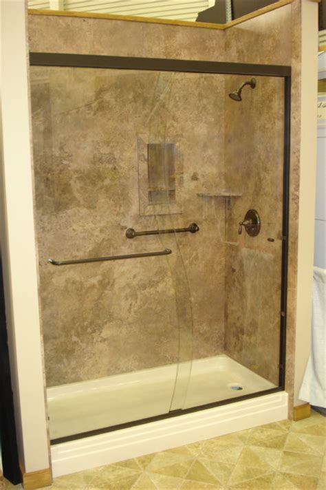 Bathtub Shower Wall Panels by Decorative Interior Shower Tub Wall Panels Traditional