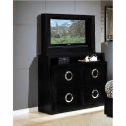 Bedroom Dresser For Tv Bedroom Bed Tv Dresser Tv Mirror Black