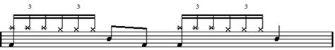 drum pattern triple time learn how to play the triple stroke roll drum rudiment