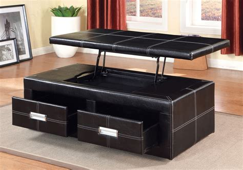 Lift Top Ottoman Coffee Table by Ostel Lift Top Storage Occasion Ottoman Bench
