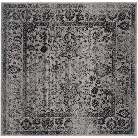 8 square area rug safavieh adirondack grey area rug square 8 adr109b 8sq
