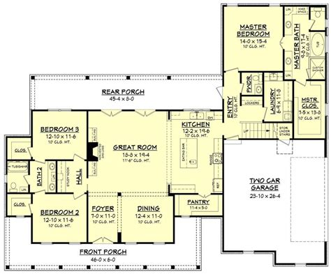 farmhouse floor plan 10 best modern farmhouse floor plans that won people