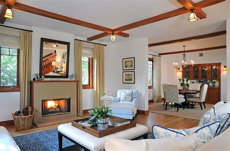style living room decor ideas for craftsman style homes