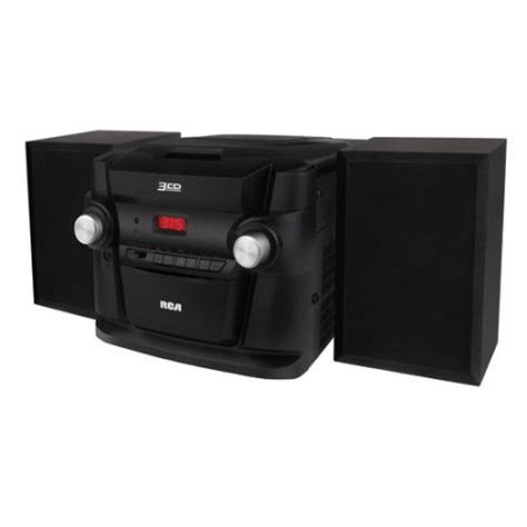 rca 3 cd mini shelf system walmart