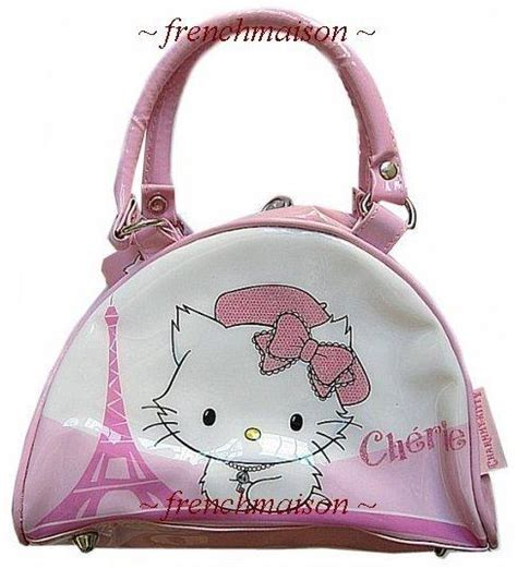 Charmmy Tote Bag authentic hello charmmy eiffel tower