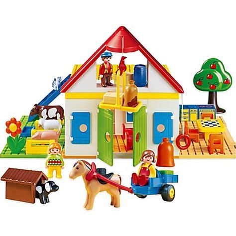 Playmobil 1 2 3 Large Farm playmobil 174 1 2 3 large farm bed bath beyond