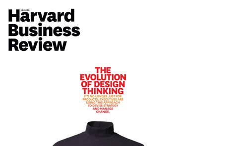 Harvard Mba Transfer by Hbr On Design Thinking Design Transfer