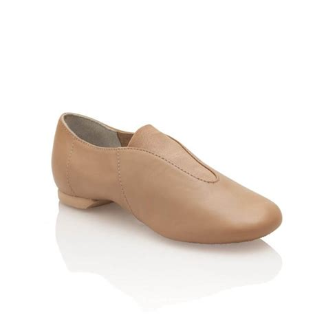 capezio child slip on show stopper jazz shoe capcp05c