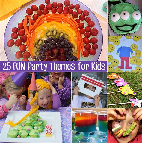 25 Party Ideas For Kids Celebration Ideas For Kids | 25 fun party themes for young children childhood101