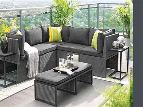 patio furniture for small patio small spaces outdoor furniture home designs