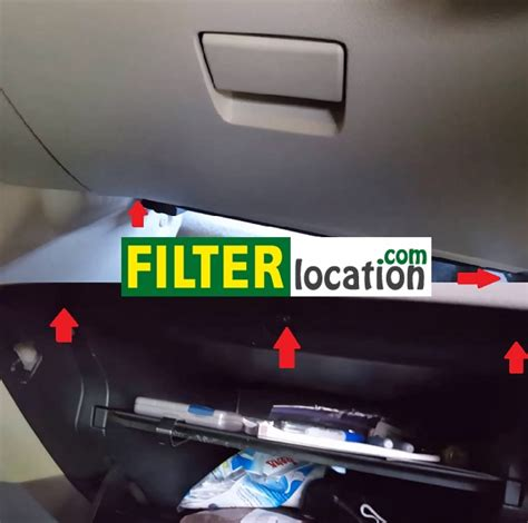 replace the cabin air filter on nissan sentra 2013 2015 dyi
