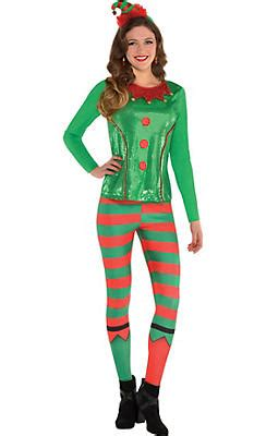 christmas elf costumes for kids adults elf outfits