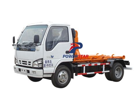 Arm Roll Hook Lift Truck new style isuzu arm roll garbage truck with hook lift